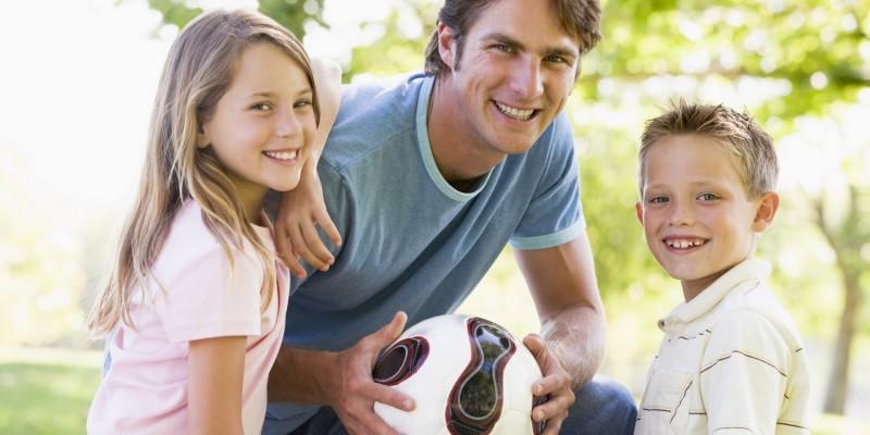 Beim Fussballspielen