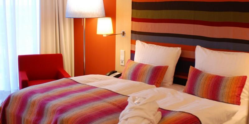 Schlafzimmer toll eingerichtet