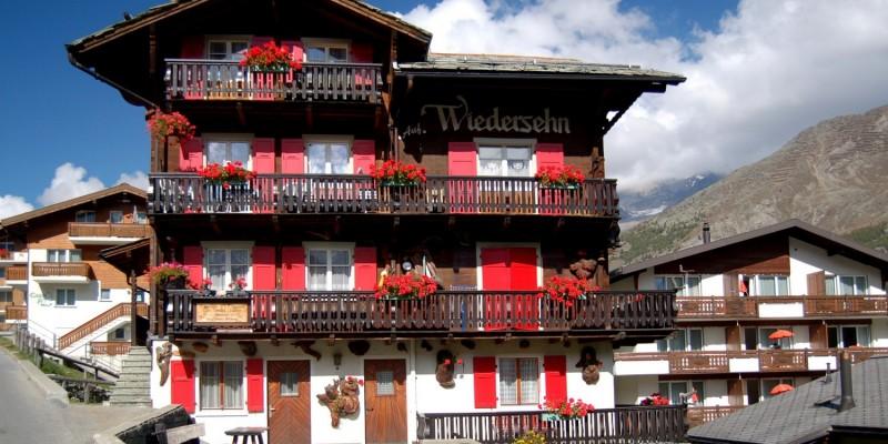 Hotel oder Ferienhaus