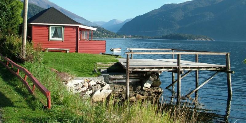 Ferienhaus am Fjord